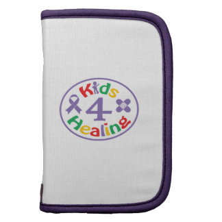 Kids 4 Healing Logo Portfolio Planner