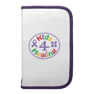 Kids 4 Healing Logo Smart Phone Portfolio Folio Planner