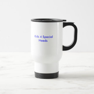 Kids 4 Special Needs 15 Oz Stainless Steel Travel Mug