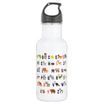 Kid's ABC Waterbottle Water Bottle