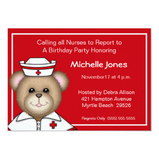 Kids/Adult  Nurse  Invitations