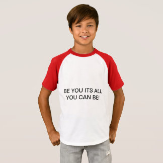 KIDS ALL YOU CAN BE T-SHIRT