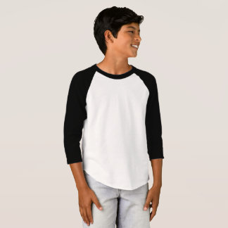 Boys' American Apparel 3/4 Sleeve Raglan T-Shirt