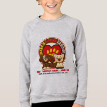 Kids' American Apparel Raglan Sweatshirt