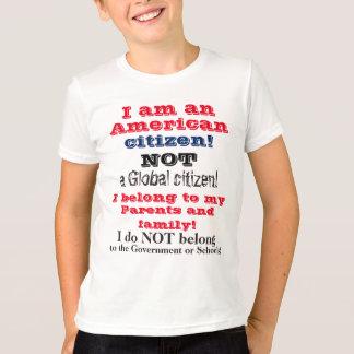 Kids American Citizen Love Family T-Shirt