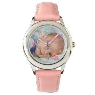 Kids and Baby Picture Wrist Watch
