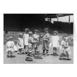 Kids and Baseball, early 1900s Card