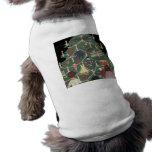 Kids and Christmas Tree - Vintage illustration Dog Clothing