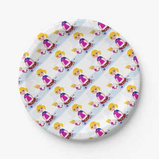 Kids and mothers party accesories paper plate