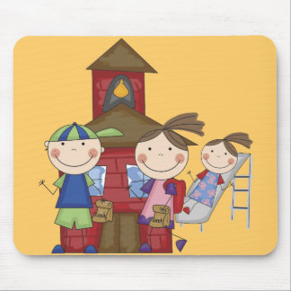 Kids and Schoolhouse T-shirts and Gifts Mouse Pad