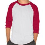 Kids' Anvil 3/4 Sleeve Raglan Baseball Shirt RED W