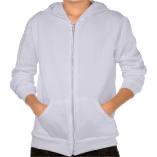 Kids' Apparel California Fleece Zip Hoodie WHITE