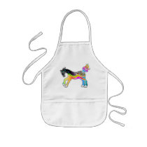 KIDS APRON - BABY BIB, Pop Art HORSE