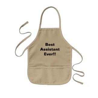 Kid's Apron - Best Assistant Ever