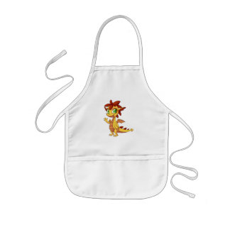 Kids Apron/Cute Dragon Kids' Apron