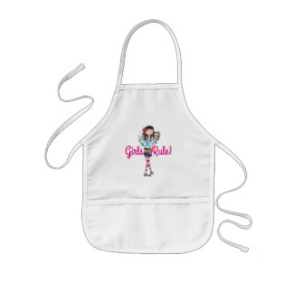 Kids Apron/Girls Rule Kids' Apron