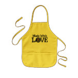 Kids Apron Made With Love