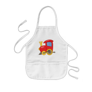 Kids Apron/Toy Train Kids' Apron
