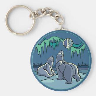 Kid's Arctic Art Key Chain Polar Bear Art Keychain