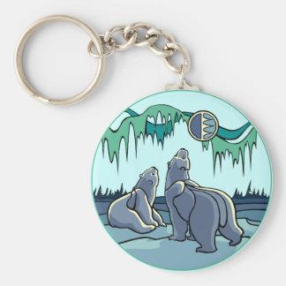 Kid's Arctic Art Key Chain Polar Bear Gifts