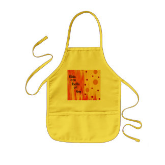 Kids Are Balls of Fire - Child's Apron