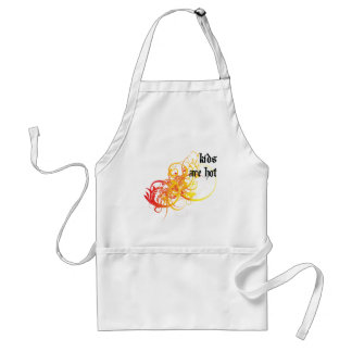 Kids Are Hot Adult Apron