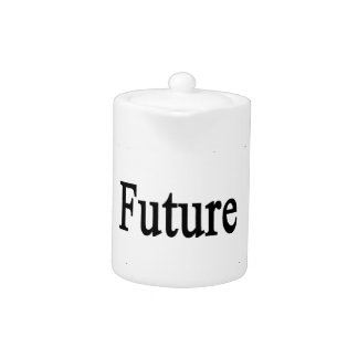 Kids Are Our Future Read To Them Teapot