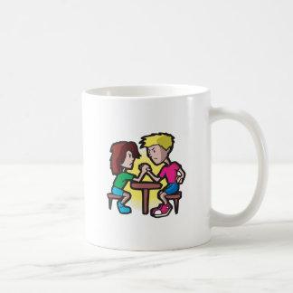 Kids Arm Wrestling Classic White Coffee Mug