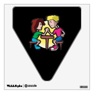 Kids Arm Wrestling Wall Sticker