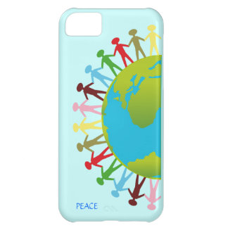 Kids Around the World Save The Planet Peace Cover For iPhone 5C
