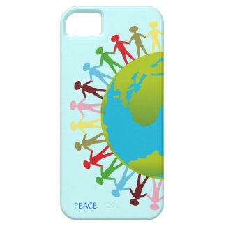 Kids Around the World Save The Planet Peace iPhone SE/5/5s Case