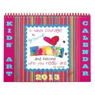 Kids Art 2013 Calendar