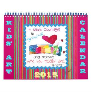 Kid's Art Calendar