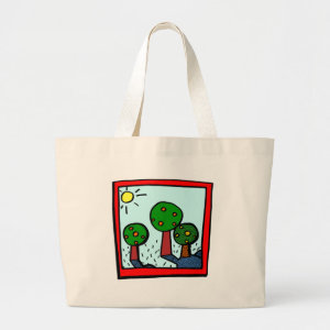 Kids Art Tote Bag bag