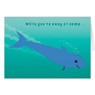 Kids at Camp Porpoise or Dolphin Dive In! Card