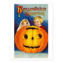 Kids at Halloween Post Cards