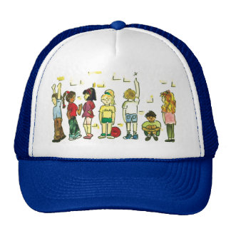 Kids at play trucker hat
