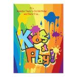 "Kids at Play Invitation 5"" X 7"" Invitation Card"