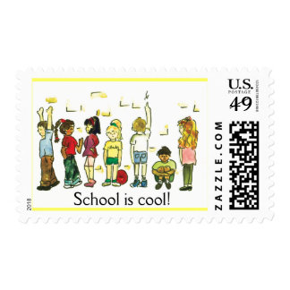 Kids at play postage
