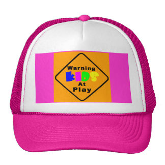 Kids At Play Trucker Hat