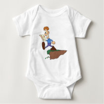 Kids at school baby bodysuit