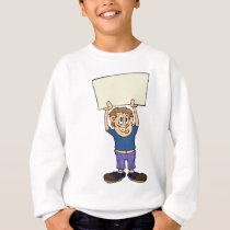 KIds at school Sweatshirt
