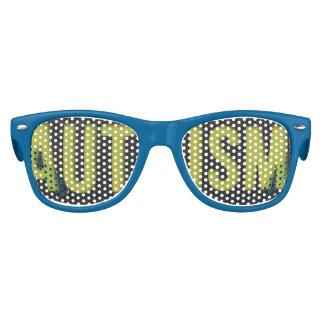 KIDS Autism Awareness WAYFARER shades Blue
