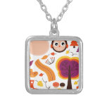 Kids Autumn edition : Product designs Silver Plated Necklace