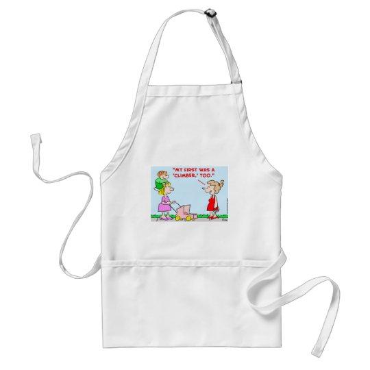 kids babies climber adult apron