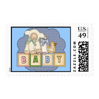 Kids Baby Blocks T Shirts and Kids Gifts Postage Stamp