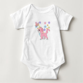 Kids Baby Girls Butterfly Flowers Pink Cat Tees