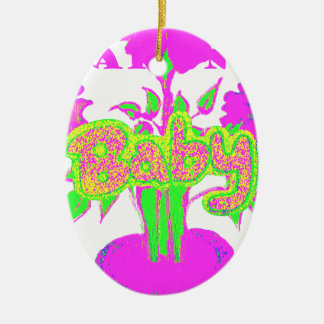 kids Baby Hakuna Matata.png Ceramic Ornament