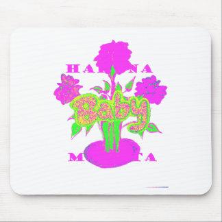kids Baby Hakuna Matata.png Mouse Pad
