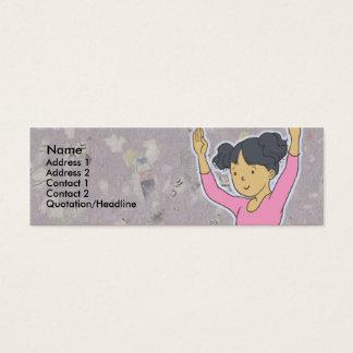 Kids Ballerina Skinny Profile Cards